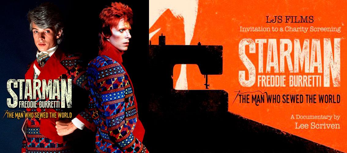 Ziggy vestido con los diseños más famosos de Burretti.